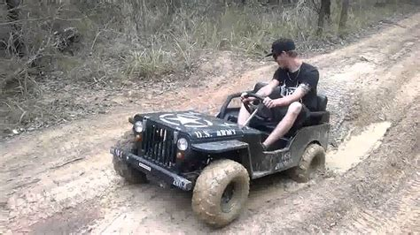 mini jeep mini jeep mud fun youtube