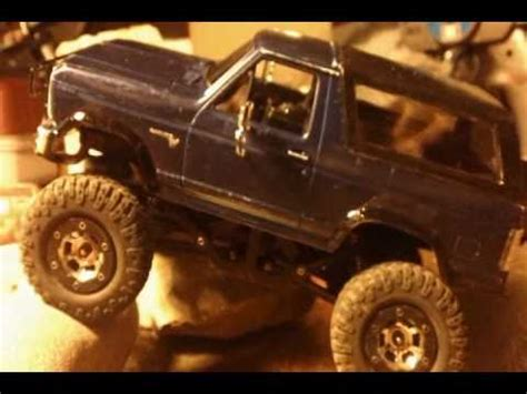 losi trail trekker 4x4 1/24 scale 1980 ford bronco vid 2