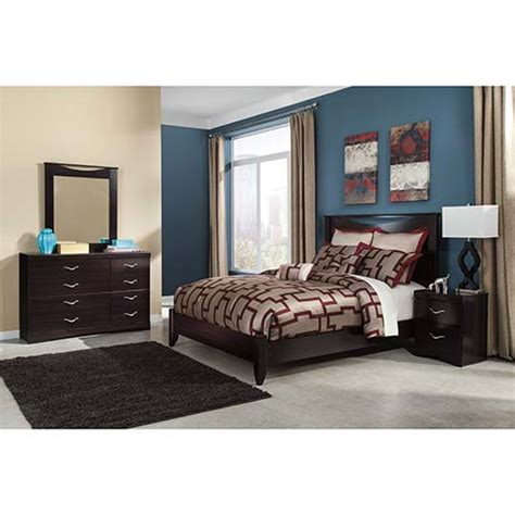 rent ashley zanbury  piece queen bedroom set