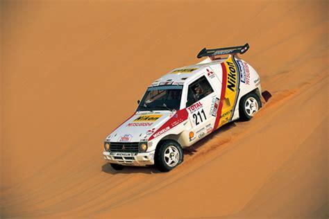 mitsubishi pajero dakar a gallery of mitsubishi s dakar rally cars japanese