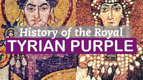 purple dye history tyrian purple history of colors littlearttalks youtube