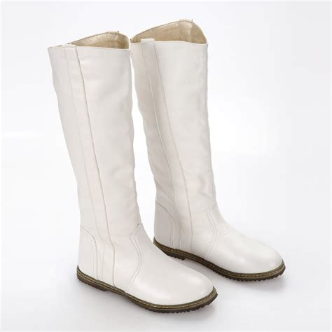 womans white boots best white flat boots photos 2017 blue maize