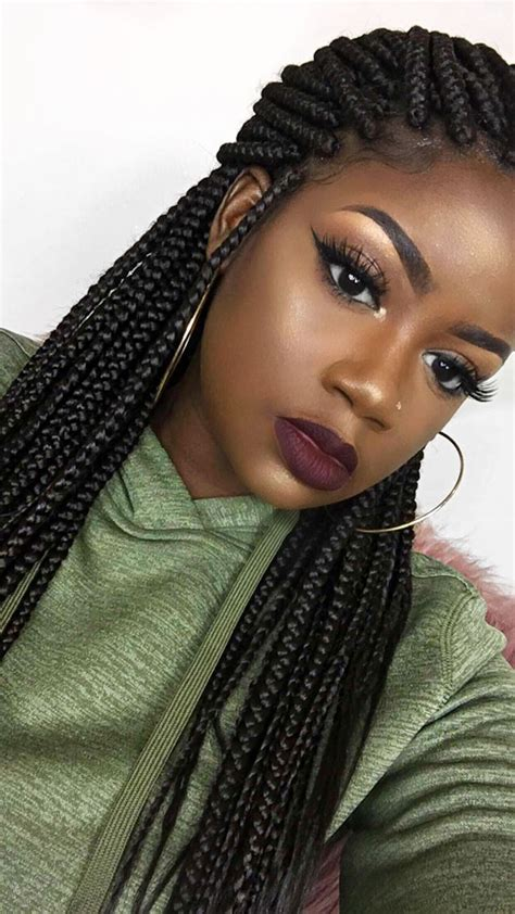 Box Braids Hairstyles by 991 Best Box Braids Images On Protective