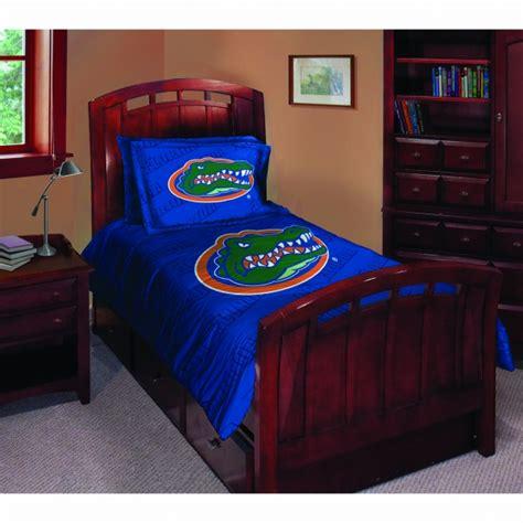 florida gators bedroom set florida gators ncaa college twin comforter set 63 quot x 86 quot