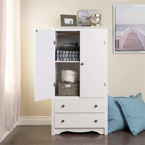 armoire uses shop prepac furniture monterey furniture white armoire at