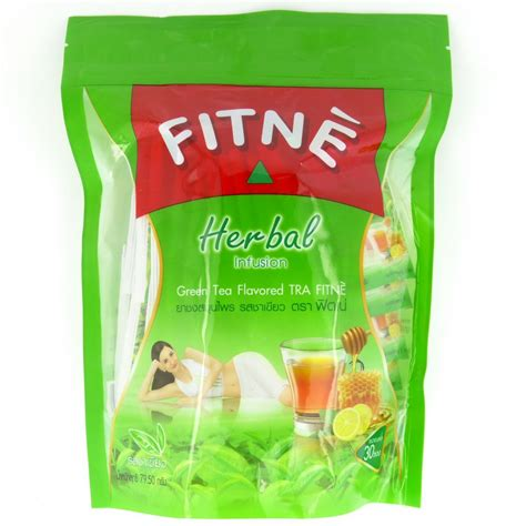 Senna Pod Detox Tea by Fitne Herbal Infusion Green Tea Senna Slimming Tea 30 Bags
