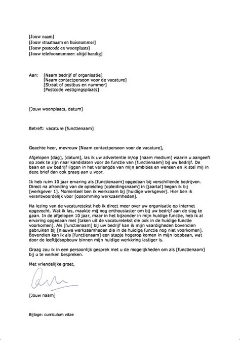 Cv Sjabloon Intermediair Voorbeeld Sollicitatiebrief Solliciteren Sollicitatie Cv En Motivatie