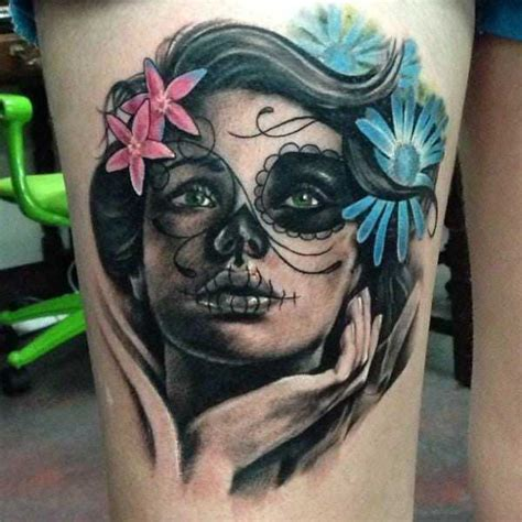 tattoo nightmares day of the dead day of the dead girls macabre and symbolic inked cartel