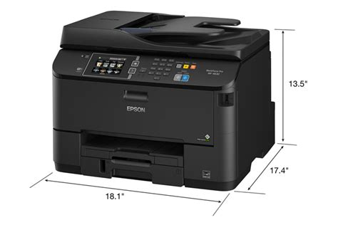 Printer All In One Epson Pro Workforce Wp 4590 Epson Workforce Pro Wf 4630 All In One Printer Inkjet Printers For Work Epson Us