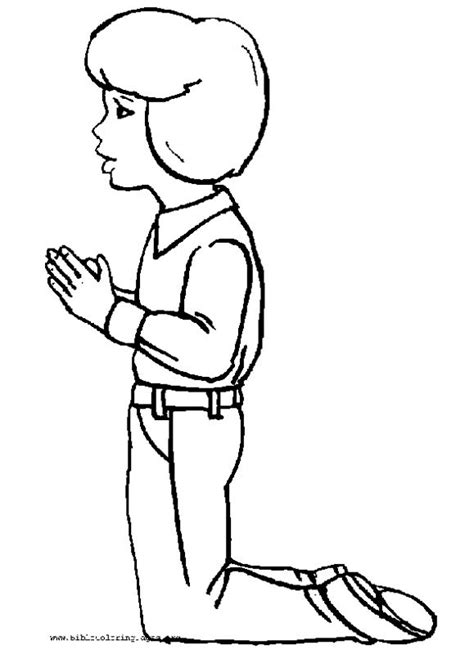 pin kid praying colouring pages on pinterest