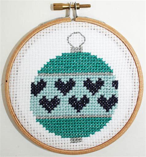 cross stitch kits baubles cross stitch kit by stitchkits notonthehighstreet