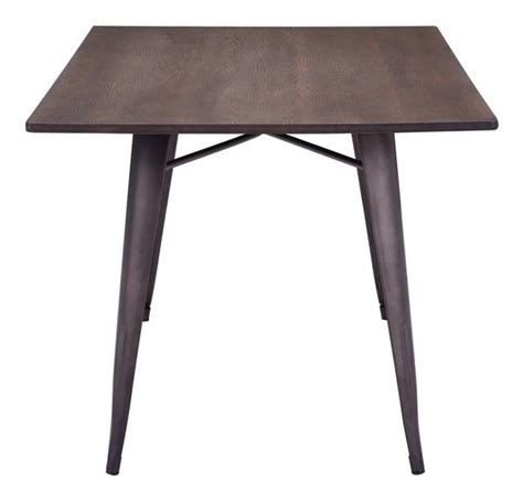 tauton rectangular dining table rustic wood froy