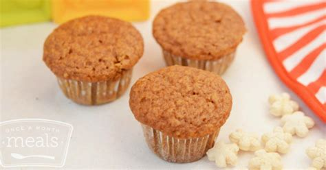Mini Sweet 1 mini sweet potato muffins once a month meals