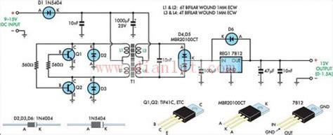 采用三端稳压器设计12v稳压电源逆变器电路 电源电路 捷配电子市场网