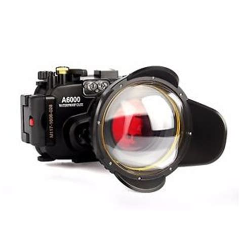 sony a6000 130ft underwater waterproof camera housing