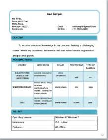 Beautiful Resume Format by Beautiful Resume Format In Word