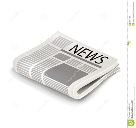 newspaper folded stock vector more images of article 158578801 istock single folded newspaper isolated stock vector illustration of article publication 33166199