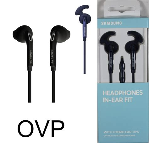 Headset Ear Fit Original Samsung Samsung Stereo Headset In Ear Fit Eo