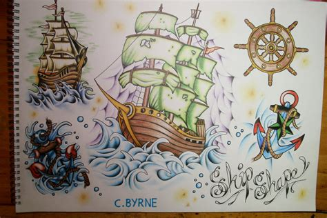 Ship And Sea Flash By Itchysack On Deviantart Nautical Flash 2