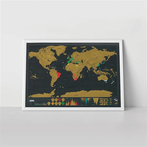 Sc Ch Map Deluxe World Map Poster