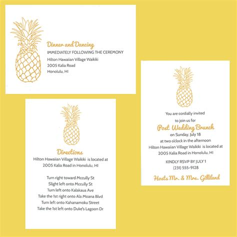 Wedding Attire Verbiage by Wedding Enclosure Cards Etiquette Wording Sizing