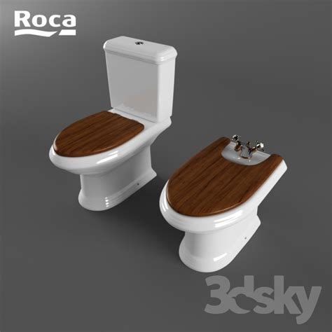 Roca Bidet Toilet 3d models toilet and bidet the toilet and bidet roca