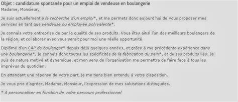 Lettre De Motivation Vendeuse De Boulangerie Lettre De Motivation Boulangerie Le Dif En Questions