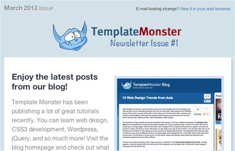 Blogger Newsletter Tutorial | designing coding your own html newsletters monsterpost