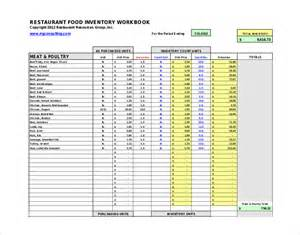 food inventory template food inventory list pdf pictures to pin on