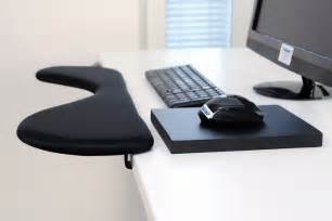 rest pad for desk forearm support computer arm rest with ergonomic mouse pad
