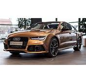 "Audi Exclusive ""Zanzibar Braun"" RS7 Looks Aggressively Elegant"