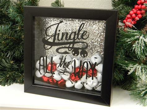 box decorations jingle all the way decor shadow box by justforkeeps