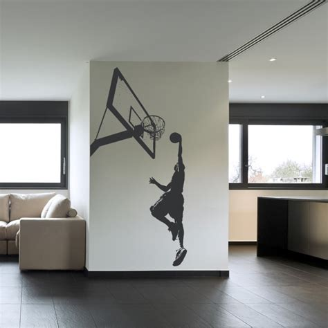 basketball wall stickers basketball slam dunk sports and hobbies wall decal