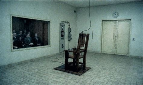 Electric Chair Execution Pics by Alabama Lawmaker Supports Return To Electric Chair