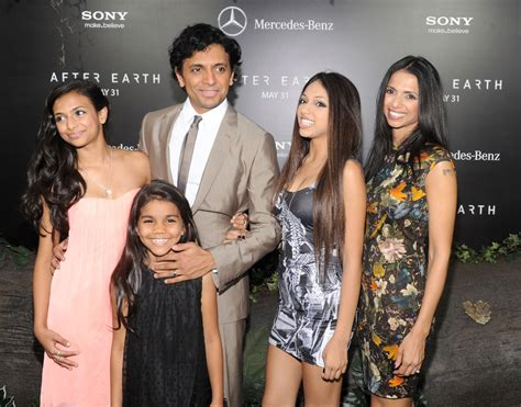 M. Night Shyamalan Photos Photos - 'After Earth' Premieres ... M Night Shyamalan Daughters