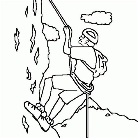 rock coloring book rock climbing colouring pages vbs 2015