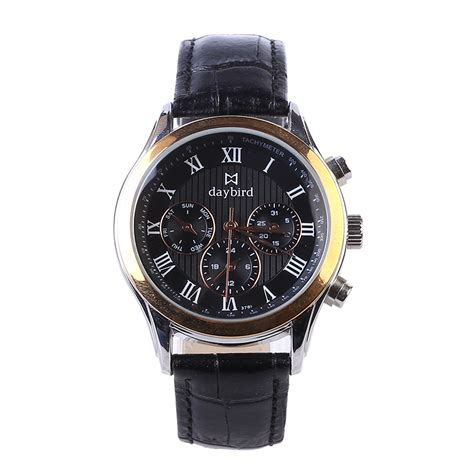 Promo Skmei Casual Leather Water Resistant 30m 9107 new hq brand watches water resistant 30m casual sport leather stainless steel quartz