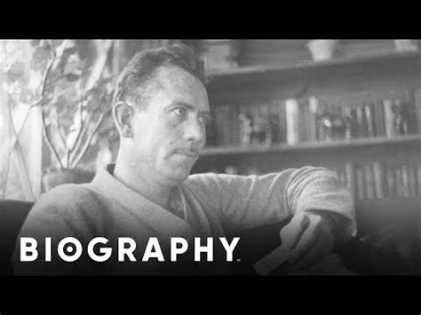 biography video mini bio john steinbeck youtube