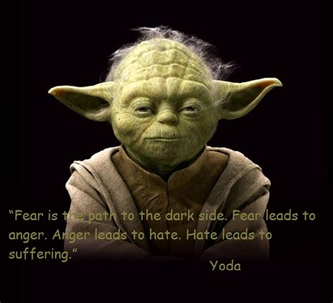 Yoda Quotes Anger