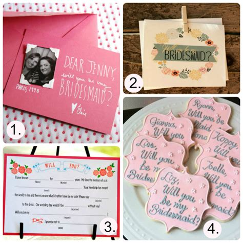 will you be my ideas will you be my bridesmaid ten best and cutest ideas