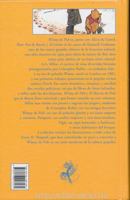 winny de puh seguido a a milne historias de winny de puh nyelvk 246 nyv forgalmaz 225 s nyelvk 246 nyvbolt nyelvk 246 nyv