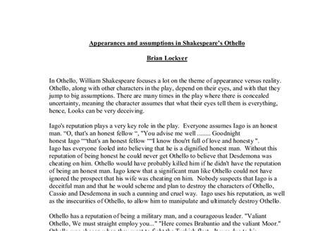 Othello Iago Essay by Othello Essay Othello Essay About Iago Ayucar