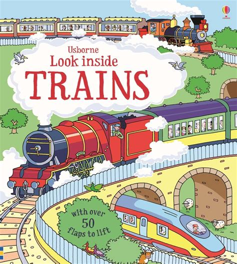Usborne See Inside Trains look inside trains at usborne books at home