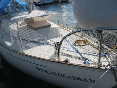 sailboat jacklines jacklines on an alberg we live on a boat
