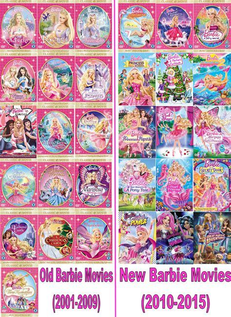 barbie film order barbie new movies list in order