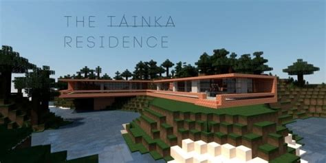 minecraft brick house design the tainka residence minecraft house design