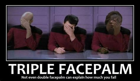 Double Facepalm Meme - epic fail palms and faces on pinterest