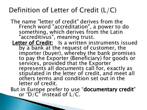 Bangladesh Credit Letter maintaining letter of credit for bangladeshi applicants