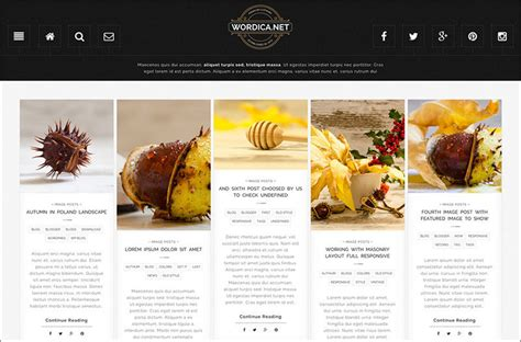 themes wordpress food 20 food blog themes free premium templates