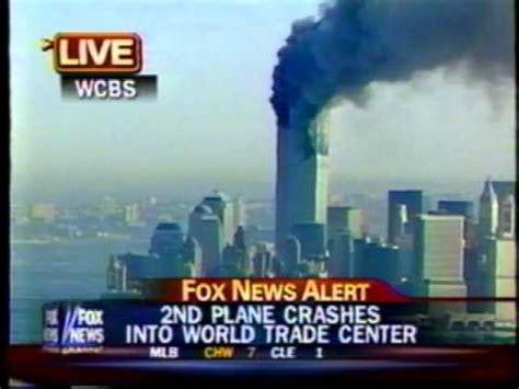 9:06 am est september 11, 2001 fox news broadcast youtube